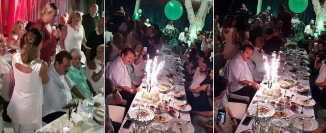 İbo Derya Tuna'yı mutlu gününde yalnız bırakmadı