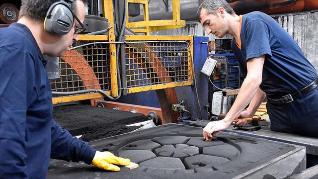 Bozüyük'ten 40 ülkeye rögar kapağı ihracatı