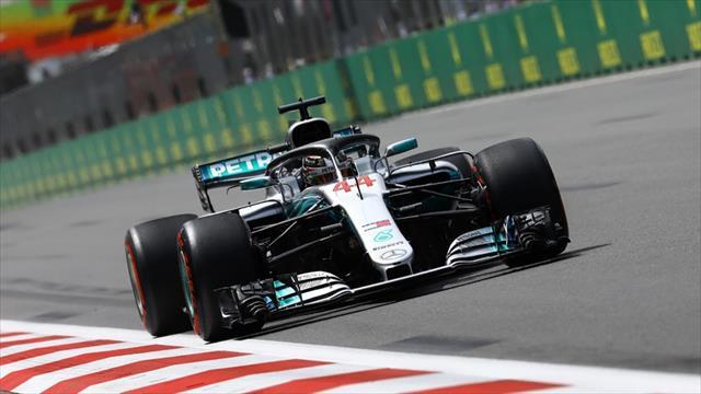 Vettel kaza yaptı, Hamilton kazandı