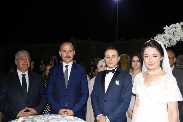 Bakan Soylu nikah şahidi oldu
