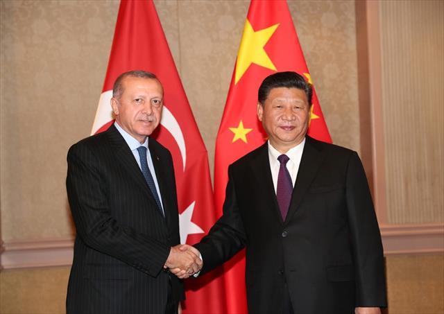 Cumhurbaşkanı Erdoğan, Çin Devlet Başkanı Şi ile görüştü