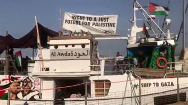 İsrail donanması Özgürlük Filosu'nu durdurdu…