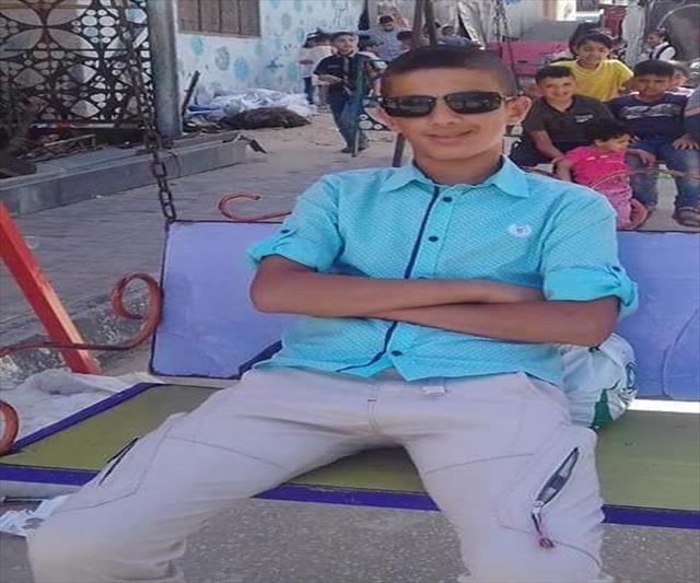 İsrail askerinin ateşi Filistinli çocuğu hayattan kopardı…