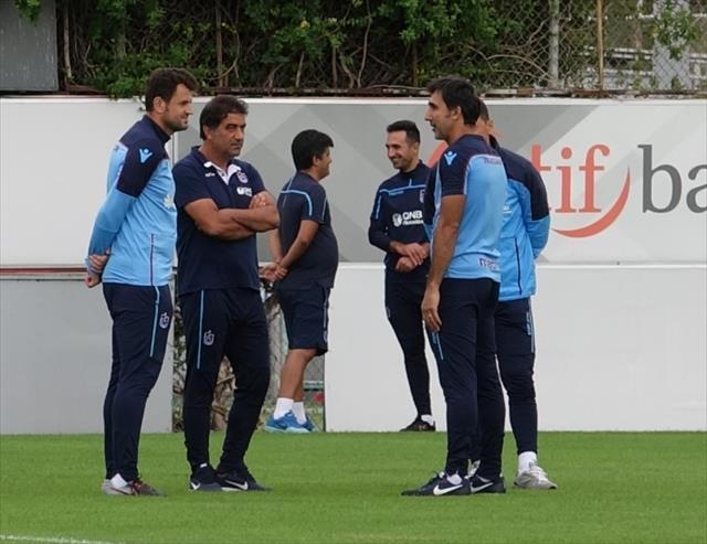 Trabzonspor'da Göztepe mesaisi başladı