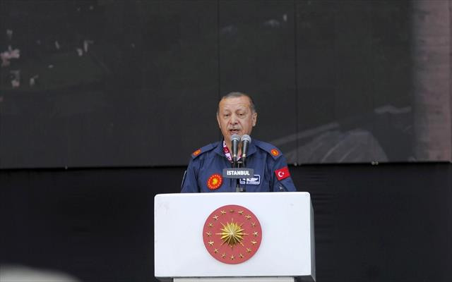 Erdoğan'dan AVM'lere TL uyarısı
