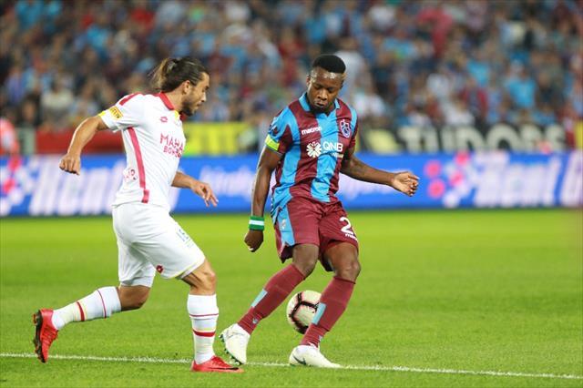 Trabzon'da ilk yarıda şok