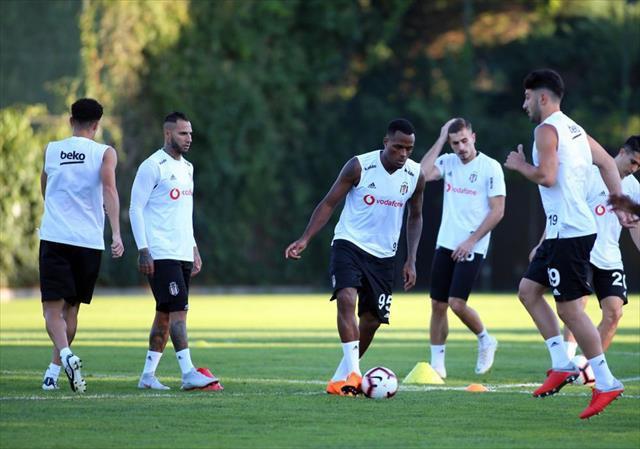 Beşiktaş derbi hazırlıklarına devam etti
