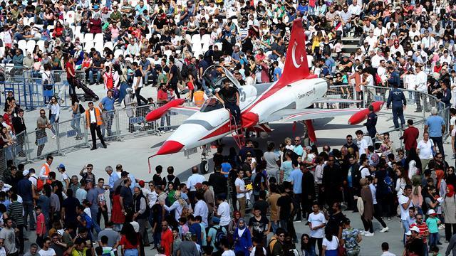 TEKNOFEST İstanbul, gösteri ve etkinliklere sahne oldu