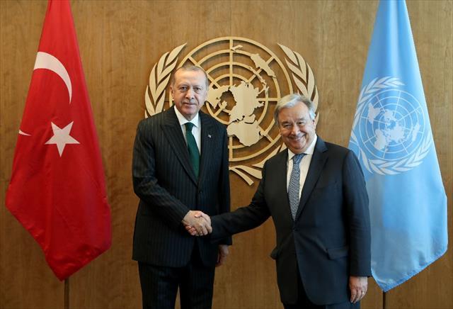BM Genel Sekreteri ile görüştü…