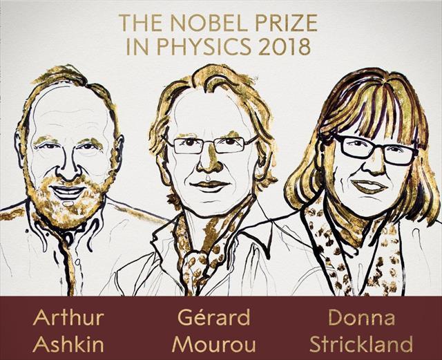 Nobel Fizik Ödülü 3 isme gitti…