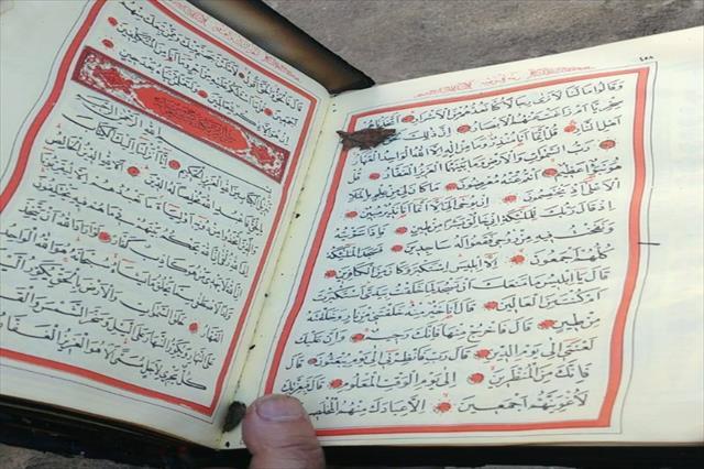Yangında sadece Kur'an-ı Kerim zarar görmedi…