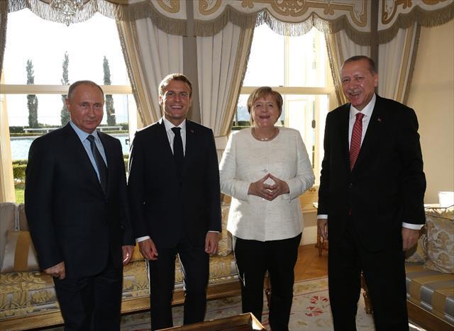 4'lü Suriye Zirvesi sona erdi…