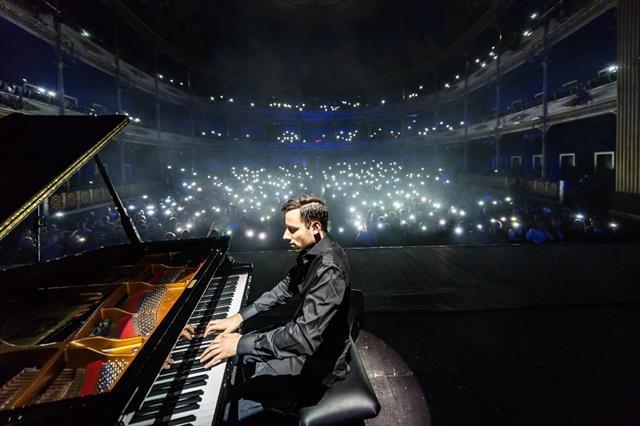 Piyanonun Usain Bolt'u Türkiye'ye geliyor