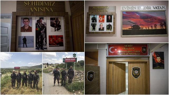 Şehit isimleri Afrin'de yaşatılıyor