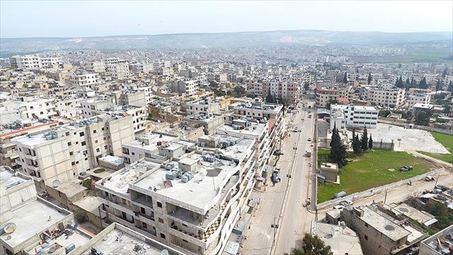 Afrin'de suç örgütüne operasyon