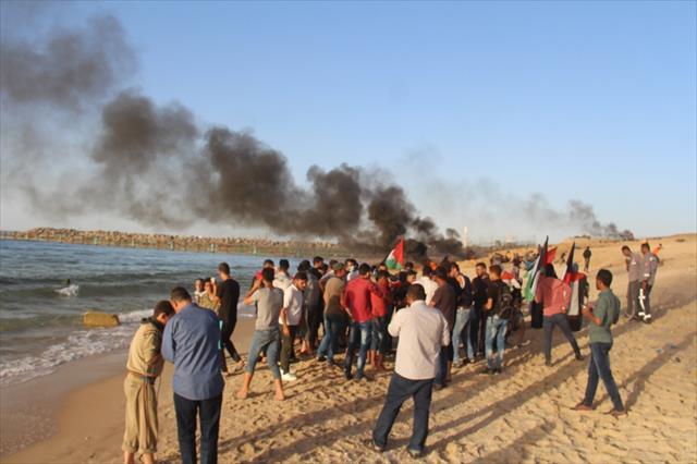 İsrail askerleri 41 Filistinliyi yaraladı…