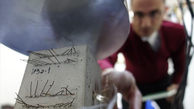 Depremlerde can kaybını 'akıllı beton' önleyecek