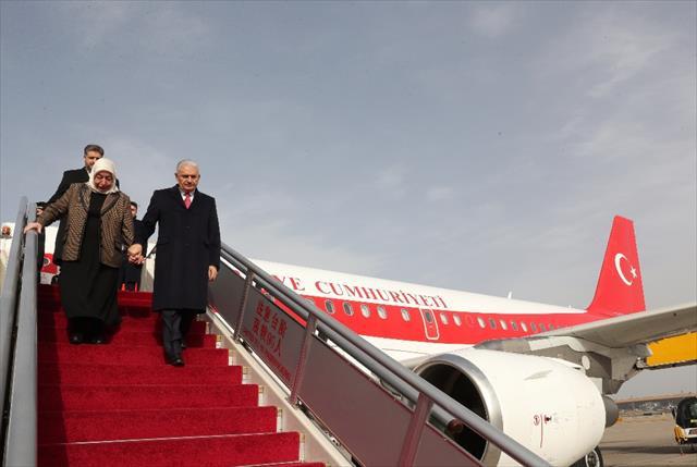 TBMM Başkanı Yıldırım Çin'de