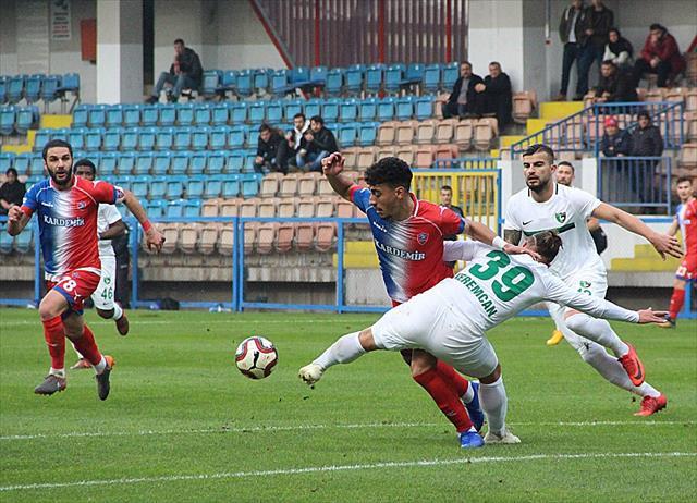 Karabük'te 5 gol