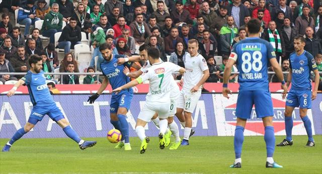 Gol düellosunda kazanan Konya