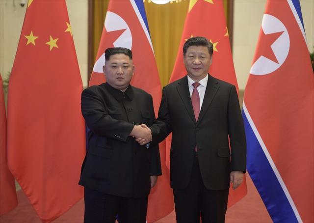 """Çin ve Kuzey Kore liderleri """"Trump-Kim"""" zirvesini ele aldı"""