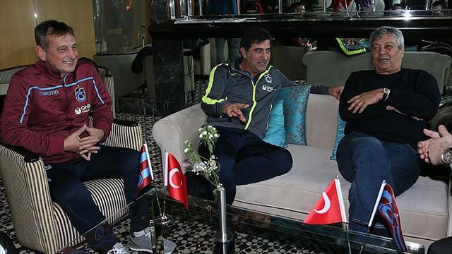 Lucescu'dan Trabzonspor kampına ziyaret