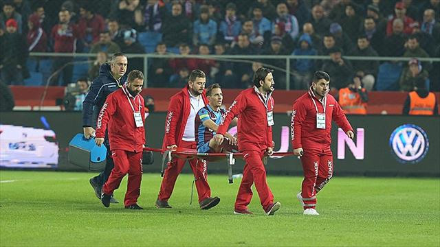Trabzonspor'a Pereira'dan kötü haber