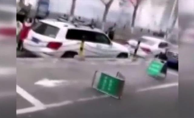 Çin'de alışveriş merkezinde patlama:1 ölü