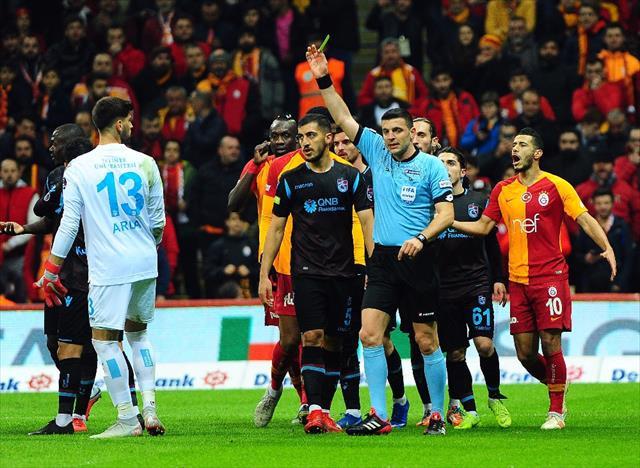 İlk yarı Galatasaray'ın üstünlüğüyle bitti
