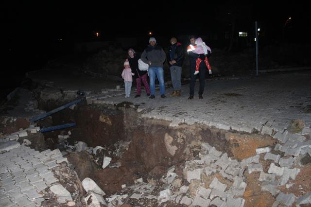 İzmir'de heyelan paniği