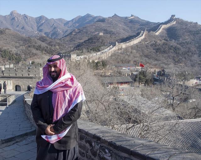 Selman Çin Seddi'nde