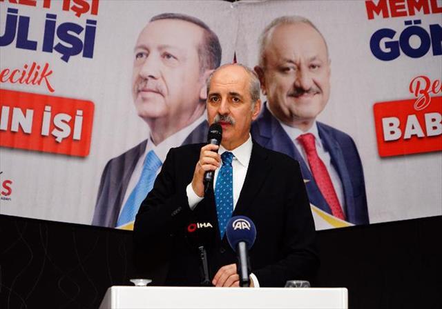 Kurtulmuş: Türkiye ne Amerika'nın ne Rusya'nın kulu kölesi olacak bir ülke değil