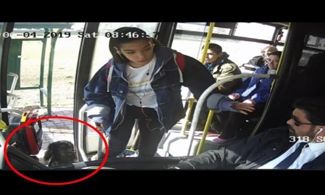 Halk otobüsü ile gezintiye çıkan Duman bulundu