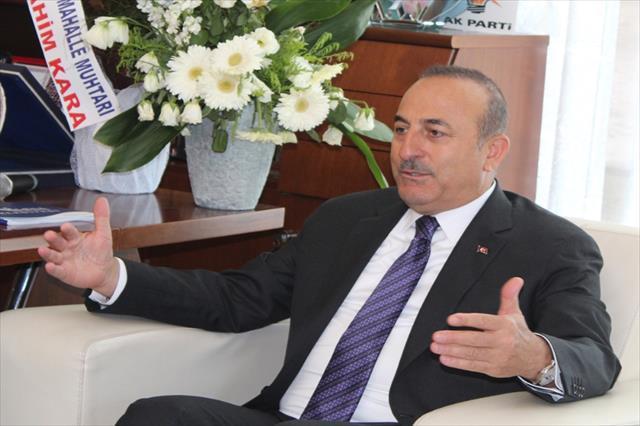Bakan Çavuşoğlu'ndan belediye ziyaretleri