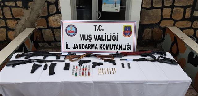 Muş'ta terör operasyonu: 70 gözaltı