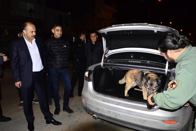 """Adana'da """"Huzur ve Güven Uygulaması 2"""" yapıldı"""