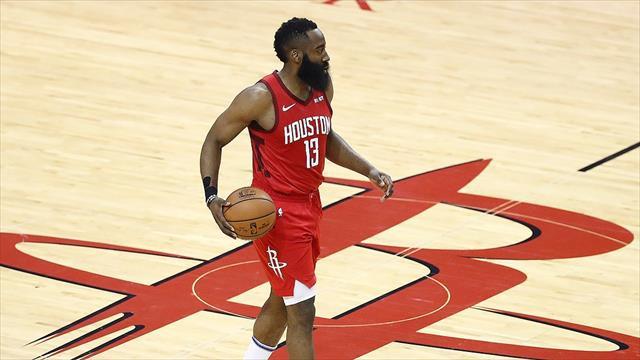 Harden 'triple-double' yaptı, Rockets kazandı