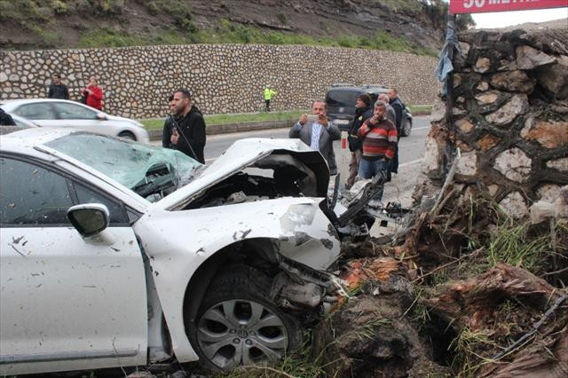 Hatay'da trafik kazası: 3 yaralı