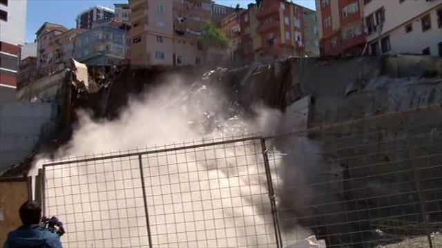 İstanbul Valiliği: Risk altındaki 10 bina boşaltıldı