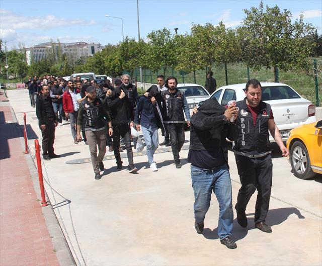 4 ilde torbacı operasyonunda 43 gözaltı