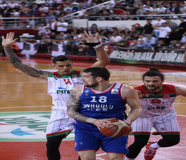 Tahincioğlu Basketbol Süper Ligi: Pınar Karşıyaka: 66 - Anadolu Efes: 96