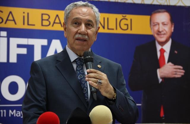 Arınç'tan İmamoğlu'na terör örgütü PKK sorusu
