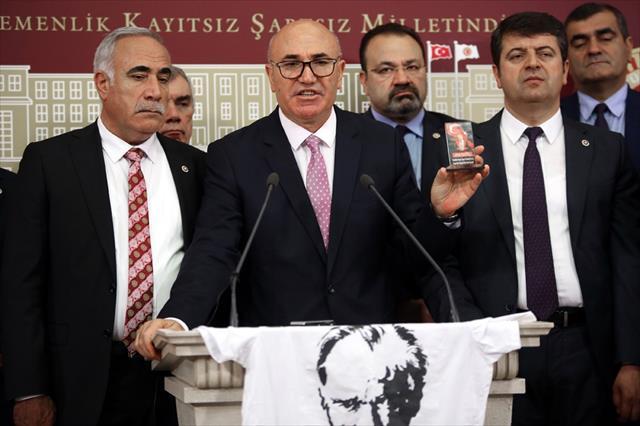"""CHP'li Mahmut Tanal: """"Söz konusu şahısları kesinlikle tanımıyorum''"""