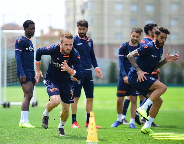 Başakşehir, Galatasaray maçı hazırlıklarını devam ettirdi