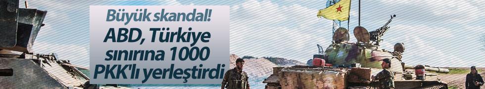ABD keşiflerin ardından PYD/PKK'lı bölgeye yerleştirildi