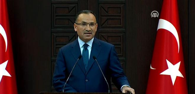 Bozdağ: Türkiye hiçbir ülkeye garanti vermedi