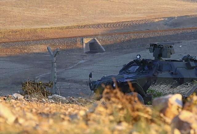 Çatışmalar Suriye sınırları içinde yaşanıyor