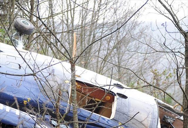 Fransa'da helikopter düştü: 5 ölü