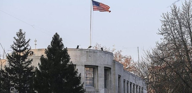 ABD Büyükelçiliği'nin önündeki caddenin adı 'Zeytin Dalı' olarak değiştiriliyor