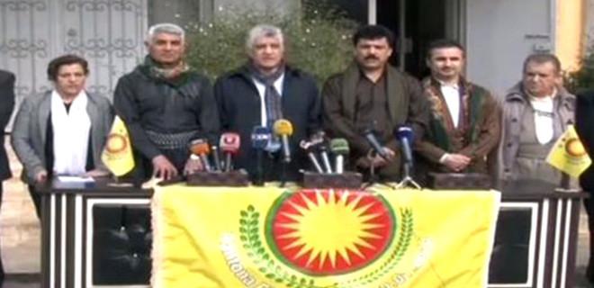 Barzani'nin milletvekillerinden Afrin'deki teröristlere destek mesajı